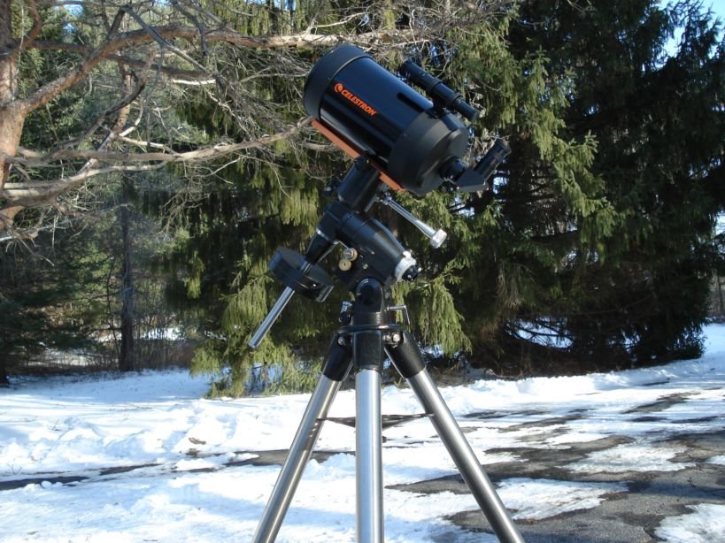 Telescope reviews page