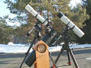 Three Telescopes