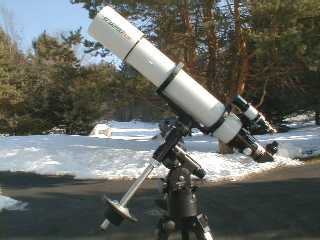 Reflecting telescope equatorial mount meade instruments newtonian